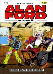 Alan Ford nr. 537, marzo 2014: è l'esordio ai disegni di Luka Bonardi (ma la copertina è una storica immagine diPaolo Piffarerio)