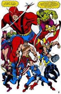 Avengers-Buscema
